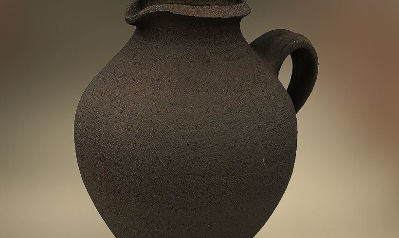 3D scan from pottery ARKit example
